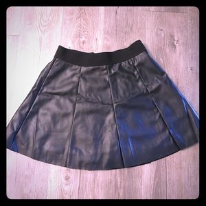Faux Leather Forever 21 mini skirt